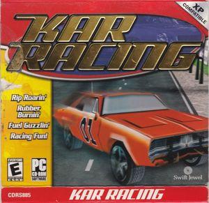 Cover for Kar Racing.