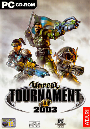 Cover for Unreal Tournament 2003.