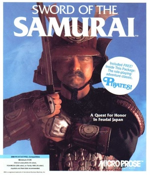 Cover for Sword of the Samurai.