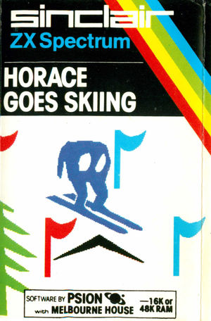 Cover for Horace Goes Skiing.