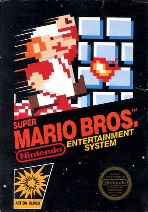 Cover for Super Mario Bros..