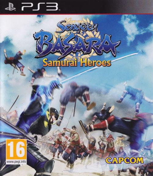 Cover for Sengoku Basara: Samurai Heroes.