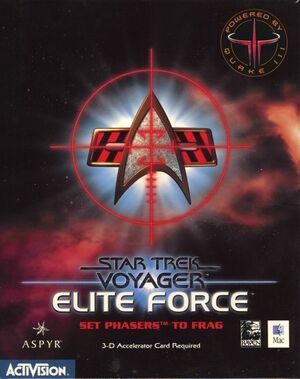 Cover for Star Trek: Voyager – Elite Force.