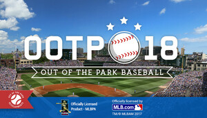 Cover for Out of the Park Baseball 18.