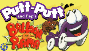 Cover for Putt-Putt and Pep's Balloon-o-Rama.
