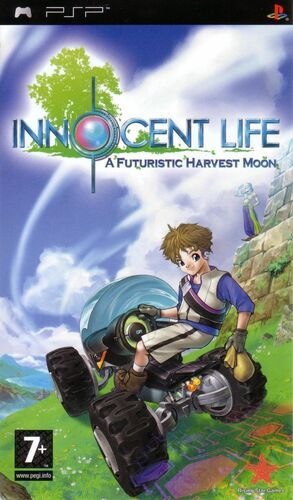 Cover for Innocent Life: A Futuristic Harvest Moon.