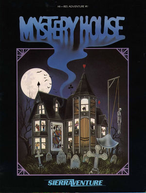 Cover for Mystery House.