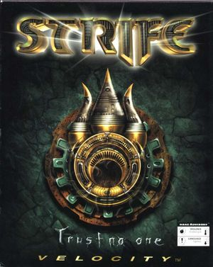 Cover for Strife.