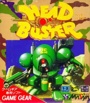 Cover for Head Buster.