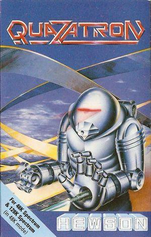 Cover for Quazatron.