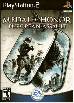 Cover for Medal of Honor: European Assault.