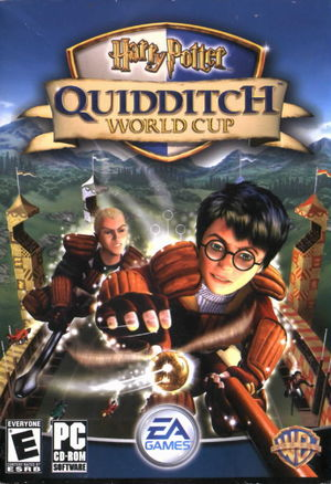 Cover for Harry Potter: Quidditch World Cup.