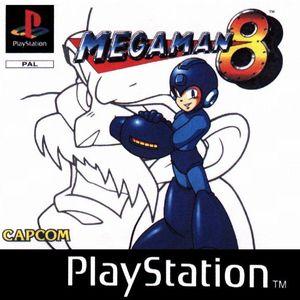 Cover for Mega Man 8.
