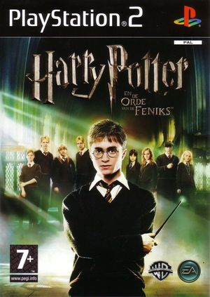 Cover for Harry Potter and the Order of the Phoenix.