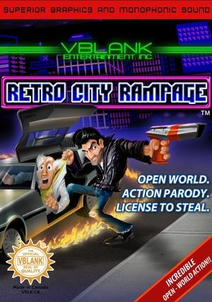 Cover for Retro City Rampage.