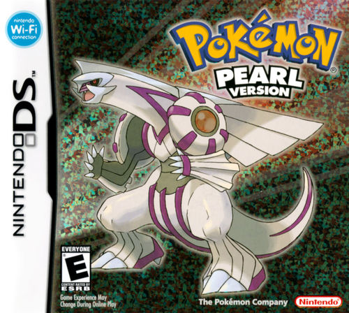 Cover for Pokémon Pearl.