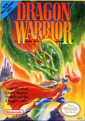 Cover for Dragon Warrior.