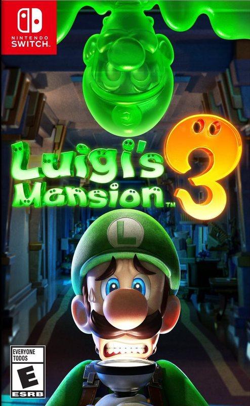 Cover for Luigi's Mansion 3.