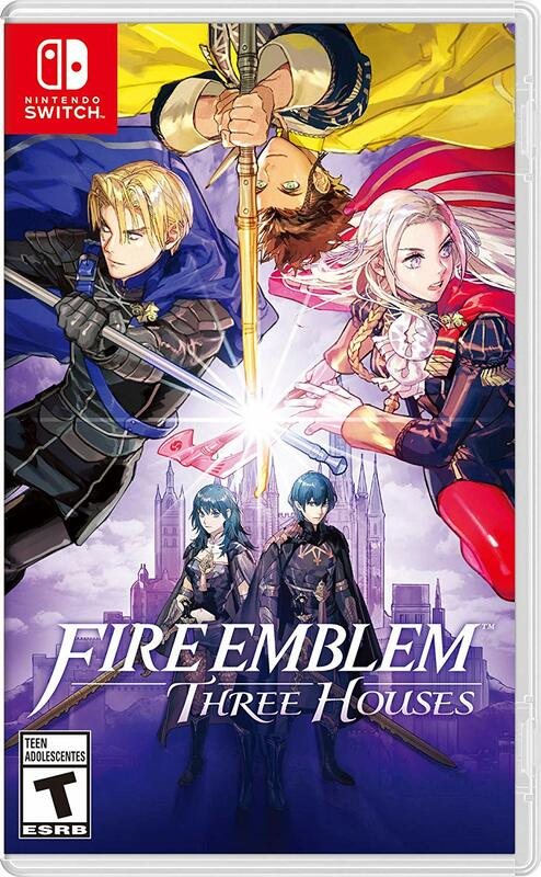 Cover for Fire Emblem: Three Houses.