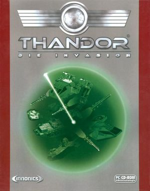 Cover for Thandor: The Invasion.