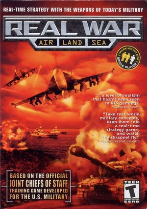 Cover for Real War.