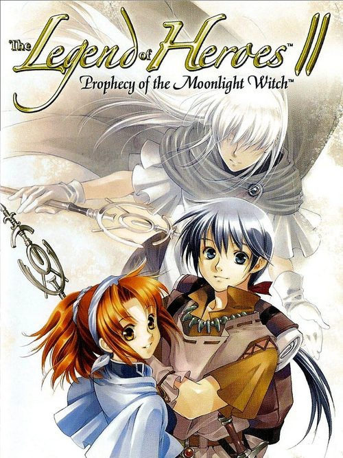 Cover for The Legend of Heroes II: Prophecy of the Moonlight Witch.