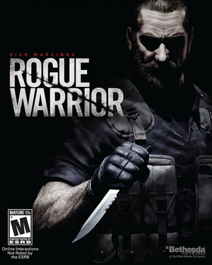 Cover for Rogue Warrior.