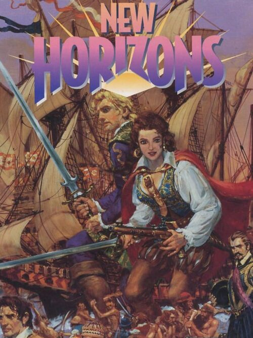 Cover for Uncharted Waters II: New Horizons.