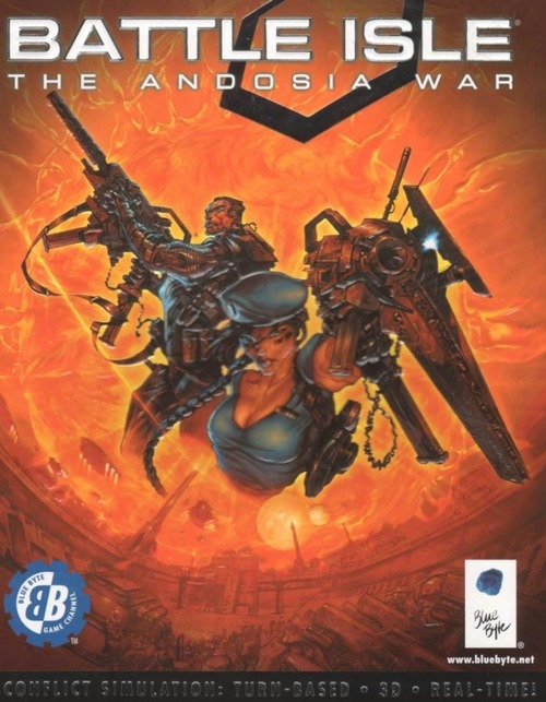Cover for Battle Isle: The Andosia War.