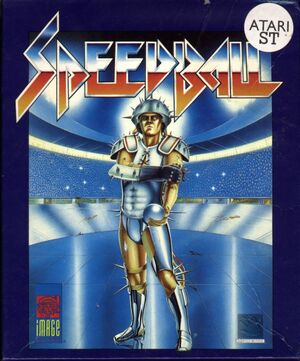 Cover for Speedball.