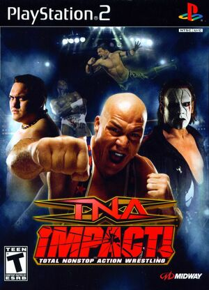 Cover for TNA Impact!.