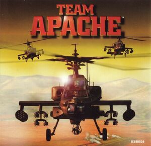 Cover for Team Apache.
