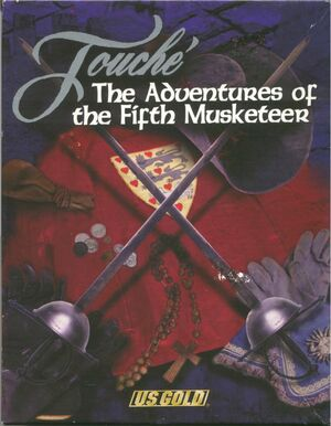 Cover for Touché: The Adventures of the Fifth Musketeer.