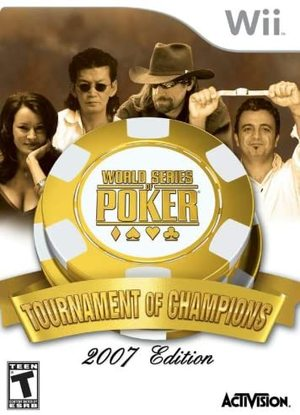 Cover for World Series of Poker: Tournament Of Champions.