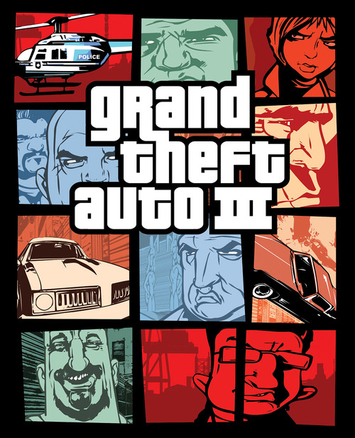 Cover for Grand Theft Auto III.