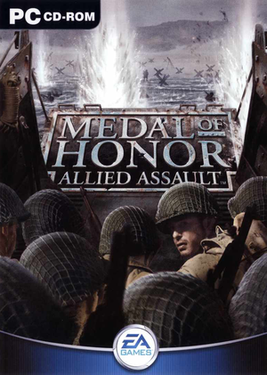 Cover for Medal of Honor: Allied Assault.