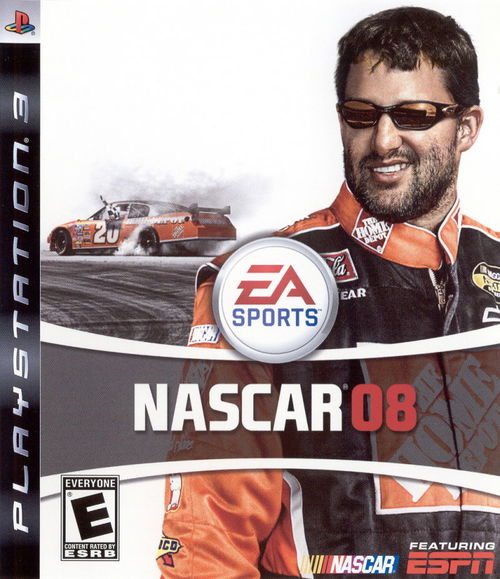 Cover for NASCAR 08.