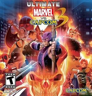 Cover for Ultimate Marvel vs. Capcom 3.