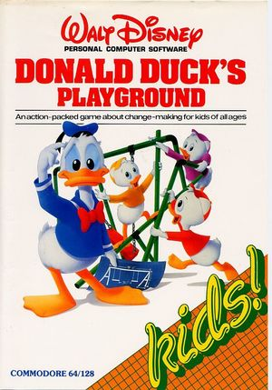 Cover for Donald Duck's Playground.