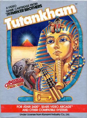 Cover for Tutankham.