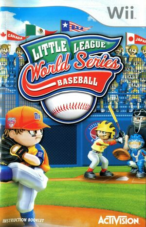Cover for Little League World Series Baseball.