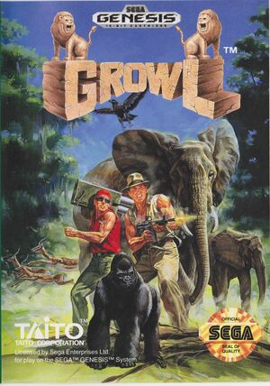 Cover for Growl.