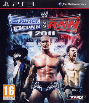 Cover for WWE SmackDown vs. Raw 2011.