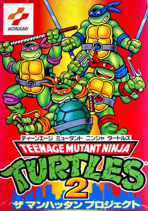 Cover for Teenage Mutant Ninja Turtles III: The Manhattan Project.