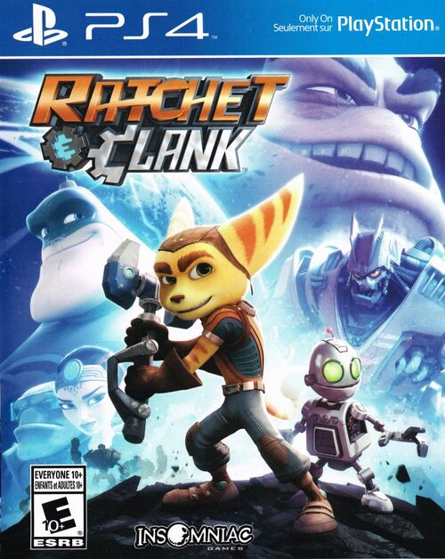 Cover for Ratchet & Clank.