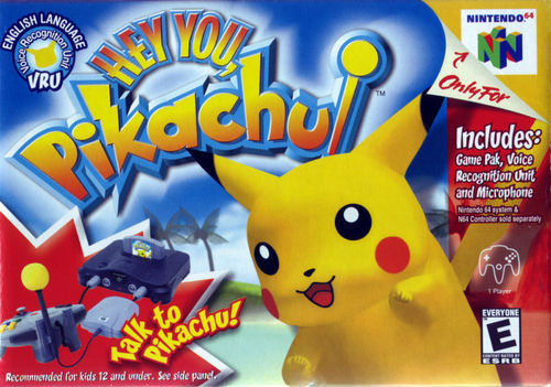 Cover for Hey You, Pikachu!.