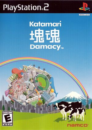 Cover for Katamari Damacy.