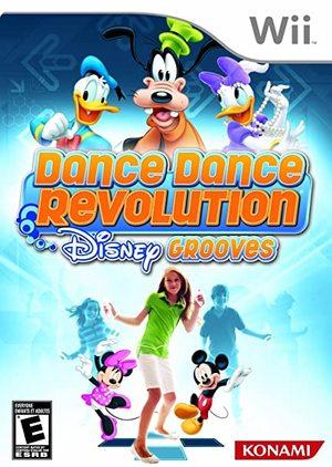 Cover for Dance Dance Revolution Disney Grooves.