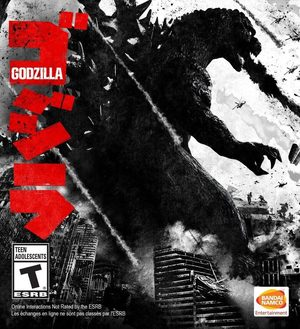 Cover for Godzilla: The Game.
