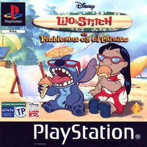 Cover for Lilo & Stitch: Trouble in Paradise.